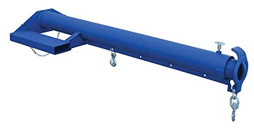 Bear Claw Forklift Boom - Economy Boom - BLM-EBT Series; Description: Economy Boom; Overall Height: 13''; Extended Length: 152-7/8''; Capacity (LBS): 4,000 by Beacon World Class Products