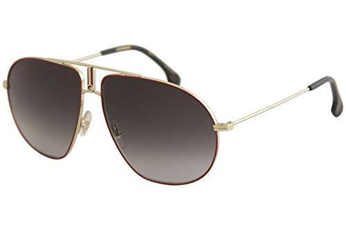 Carrera Men's Bounds Aviator Sunglasses, RED GOLD/DARK GRAY GRADIENT, 62 ()