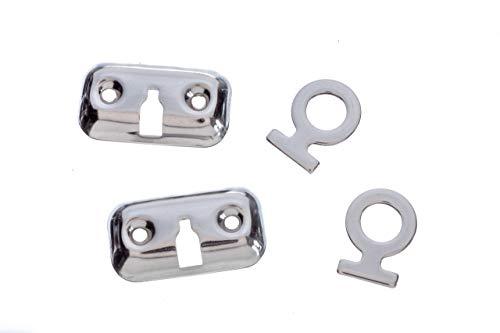 Attwood 11575-3 Stainless Steel Boat Fender Lock Kit - Pair