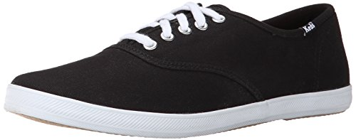 Keds Men's Champion Original Canvas Sneaker,Black/White,9.5 M US Canvas Mens Sneakers