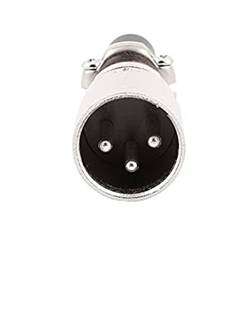 eDealMax de Microphone Haut-parleur de 60 mm 3 Les bornes XLR Mâle Câble audio Connecteur