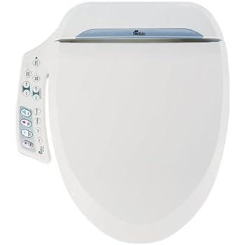 TOTO Washlet S350e Round Bidet Toilet Seat with Auto Open and