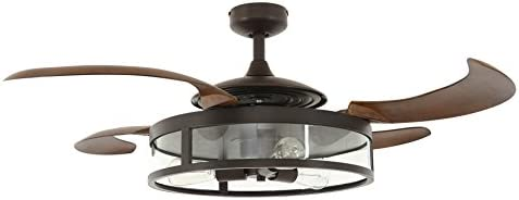Fanaway 212925010 Classic Retractable 4-blade 3-light AC Ceiling Fan