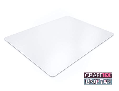 CraftTex, Ultimate Craft Table Protector Mat, Super-Strong Clear Polycarbonate, 20