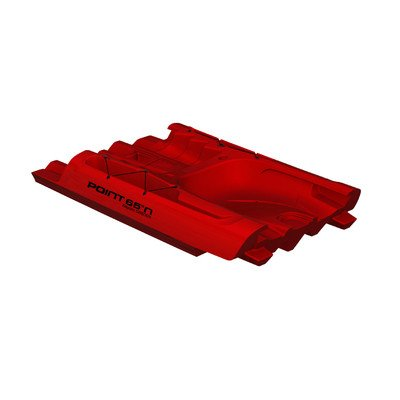 000123011604 Point 65 Red Tequila Mid Piece Kayak