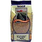 NOW Foods Real Food Organic Flax Seed Meal -- 12 oz