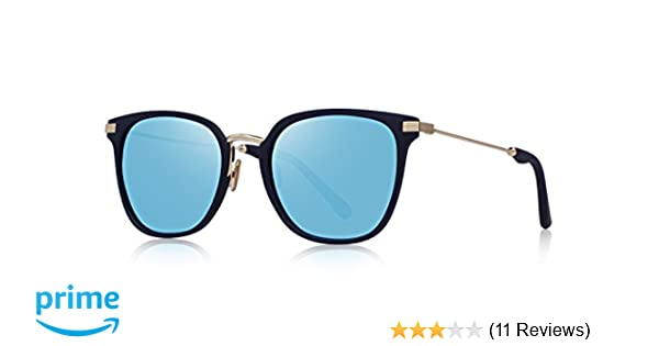 0a9b110aa9 Amazon.com  OLIEYE Fashion Polarized Sunglasses for Women Men UV400 Mirrored  Lens O6177  Clothing