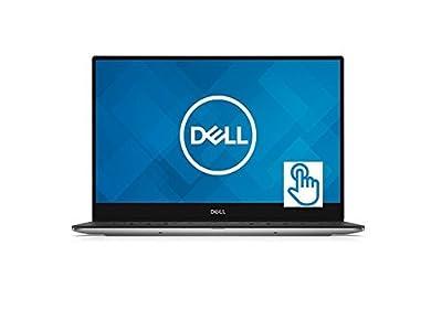 "2018 Premium Dell XPS 13 9360 13.3"" Full HD Infinity Edge IPS Touchscreen Business Laptop - Intel Dual-Core i5-7200U 8GB DDR3 512GB SSD MaxxAudio Backlit Keyboard 802.11ac Webcam Thunderbolt 3 Win 10"