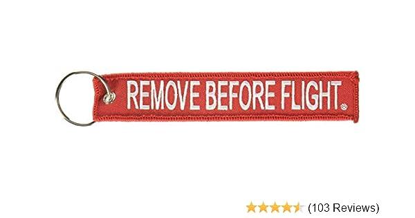 Remove Before Flight Key Chain 5 Pack Rotary13B1