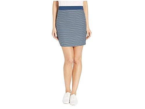 CARVE Designs Women's Suzanne Skirt, Bay Stripe, X-Large