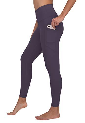 (90 Degree by Reflex High Waist Interlink Yoga Pants - Royal Plum - XS)
