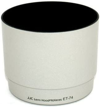 New JJC LH-74 White Lens Hood for Canon EF 70-200mm F4L IS USM Lens Replace ET74