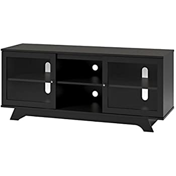 Ameriwood Home Englewood Tv Stand For Tvs Up To 55 Black Dorel Home