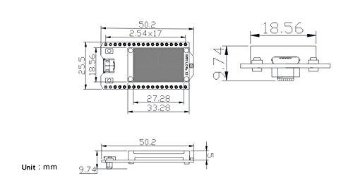 WIshioT Lora Module 868MHz-915MHz 0.96 OLED Display ESP32 ESP-32S WIFI Bluetooth Development Board Antenna Transceiver SX1276 IOT for Arduino Smart Home by WIshioT (Image #4)