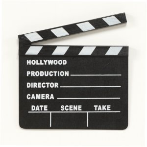 Lights, Camera, ACTION Clapboard ()