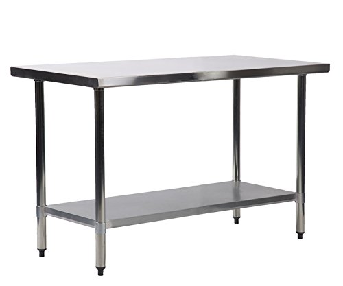 24'' x 72'' Stainless Steel Kitchen Work Table Commercial Kitchen Restaurant by FDW