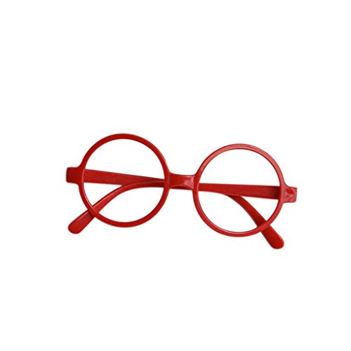 Misright Children Harry Potter Style Round Shape Frame Glasses Christmas Birthday Party Costumes Gift - Style Harry Potter Glasses