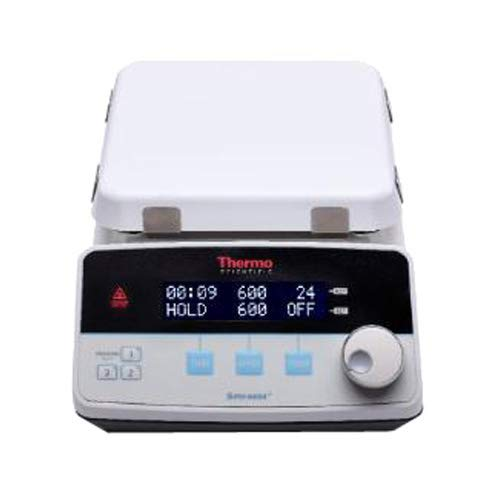 """Thermo Fisher SP88857194 Supernova+ Aluminum Top Stirring Hotplate, 100-120 Volts, 50/60Hz, 7.25"""" x 7.25"""" Heating Surface"""