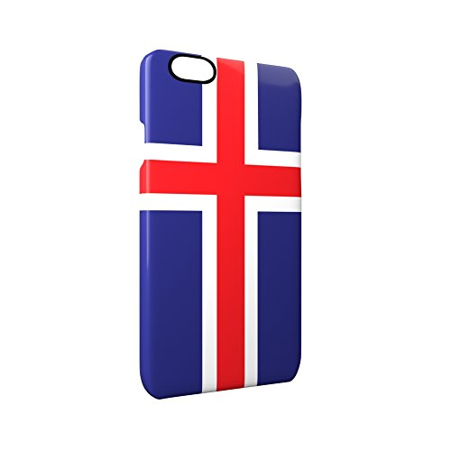 Flag of Iceland Glossy Hard Snap-On Protective iPhone 6 / 6S Case Cover