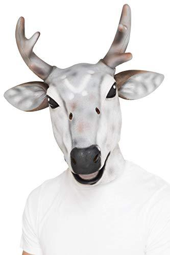 Reindeer / Stag Latex Mask ()