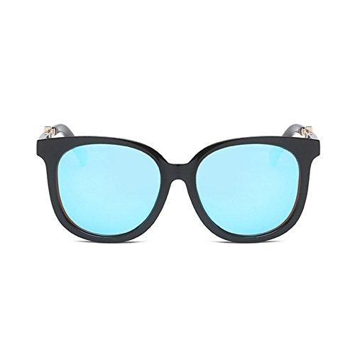 Aoligei Mode rétro des yeux trop tendance de personnalité couleur lunettes de soleil lunettes lunettes de soleil NEKMO