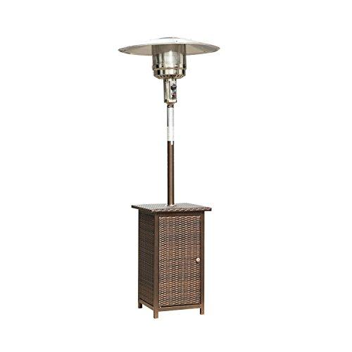 Homcom 12KW Patio Heater Free Standing Outdoor Garden Heating Rattan Furniture Wicker Table Top