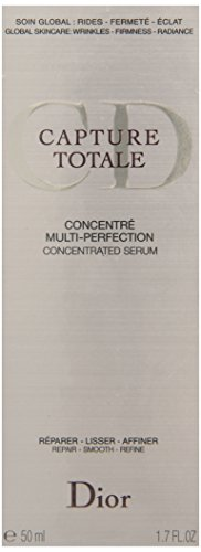 Christian Dior Capture Totale Multi-Perfection Concentrated Serum for Unisex, 1.7 (Christian Dior Wedding)