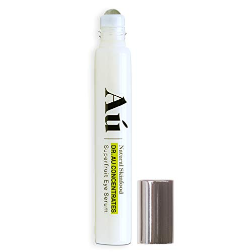 Dr. Au Superfruit Eye Serum by Au Natural Skinfood – Eye Roll On Reduces Dark Circles, Puffy Eyes and Crows Feet Correct Fine Lines and Wrinkles Hydrated Younger Looking Skin