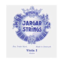"""Jargar up to 16.5"""" Viola A String Thick(Forte) Chromesteel"""