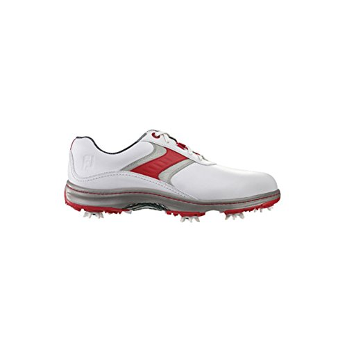 FootJoy Men's CloseOut Contour Series White/Red/Grey Leat...