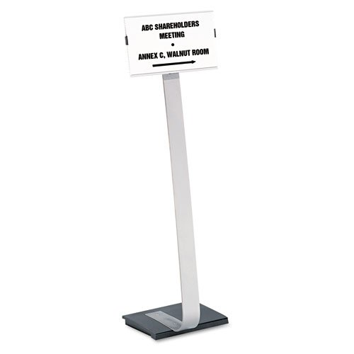 Durable - Info Sign Duo Floor Stand, Letter-Size Inserts, 15 x 44-1/2, Clear 4814-23 (DMi EA by Durable (Image #2)