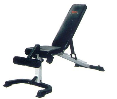 York Barbell FTS Flex Bench With Foot Hold-down