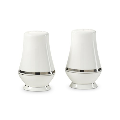 Mikasa Gothic Platinum Salt And Pepper Set, Silver