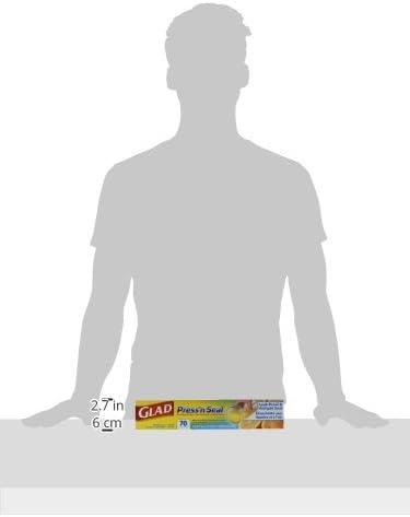 Glad Plastic Food Wrap Variety Pack - Press'n Seal Wrap - FreezerWrap - HangWrap (Pack of three) (Package May Vary)