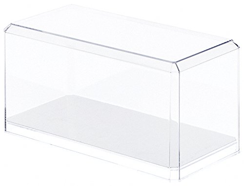 Pioneer Plastics 94CD 1:24 Scale Model Mirror Display Case, Clear