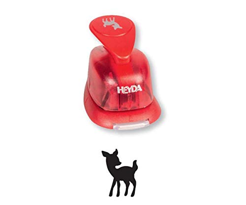 Puncher Red 15mm - The Baby Deer, Hole Punch, Art Supplies, Heyda