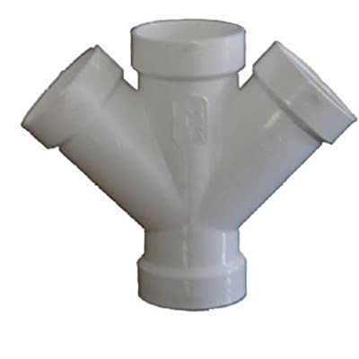 Genova Products 73440 Double Wye Pipe Fitting