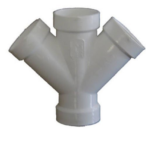 Genova Products 73420 Double Wye Pipe Fitting, 2