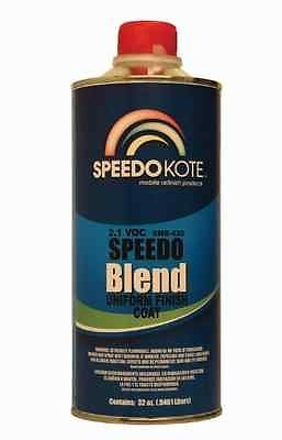 SpeedoKote SMR-420-Q - 2.1 Low voc Clear Coat Blender, Perfect Clearcoat Blend Edges Quart
