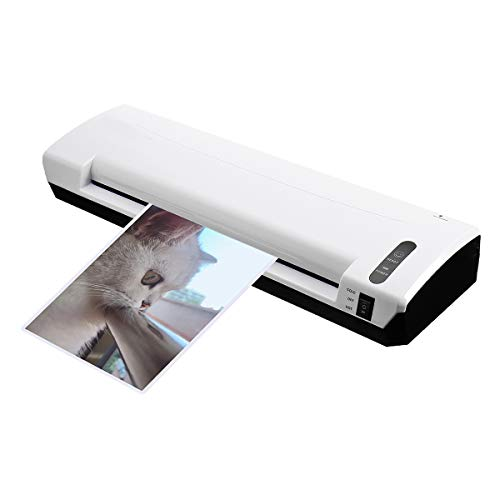 A3 Photo Laminator Cold Hot Pouch Paper Film Document Thermal Machine Trimmer Printer (Pouches 125 Laminator)