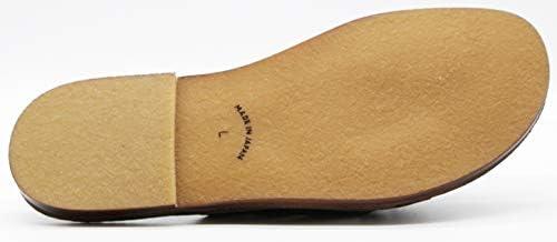IND-11051 メンズ サンダル 本革 天然皮革 日本製 滑りにくいソール