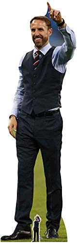 STAR CUTOUTS CS755 Lifesize Cardboard Cutout Gareth Southgate England Football Manager Standee Stand Up 193cm Tall, -