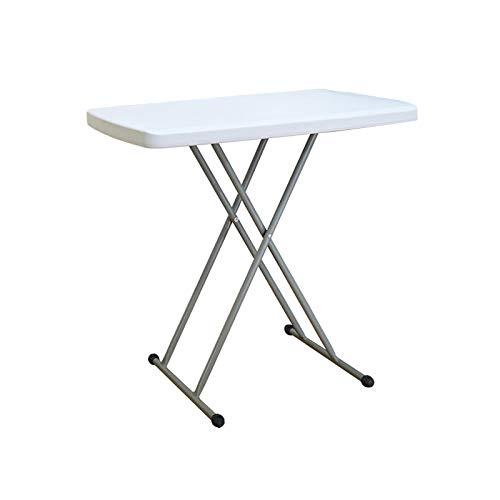 mesa plegable, Bandeja Ajustable En Altura para Mesa De Ordenador ...