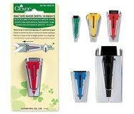 Clover Bias Tape Makers, Package Includes all 5 sizes by CLOVER