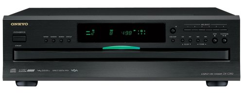 Onkyo DXC390 6 Disc CD Changer (Digital Labs Portable Tv)