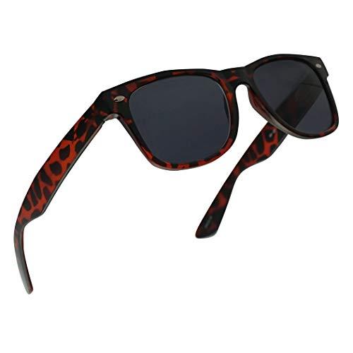 Original 49mm Classic Spring Hinge Rx Prescription Sun Readers Stylish Reading Sunglasses for Men and Women Power +1.00 Thru +4.00 (Tortoise Frame | Black, 3.00)