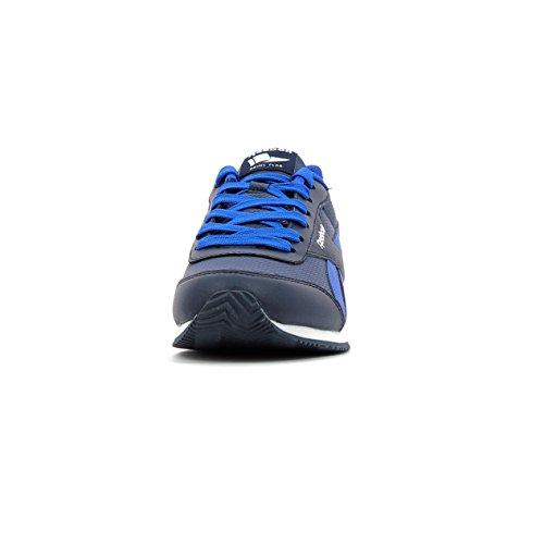 Reebok Royal Cljog 2rs, Zapatillas de Deporte Unisex Niños Azul (Collegiate Navy / Vital Blue / White)