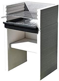 Barbacoa de hormig/ón Venit Flex Carbon