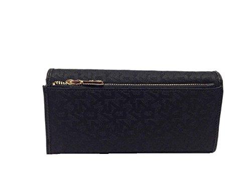 DKNY T&C Saffiano Large Carryall Wallet Black/Black