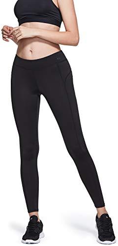 TSLA Women's Thermal Yoga Pants, Fleece Lined